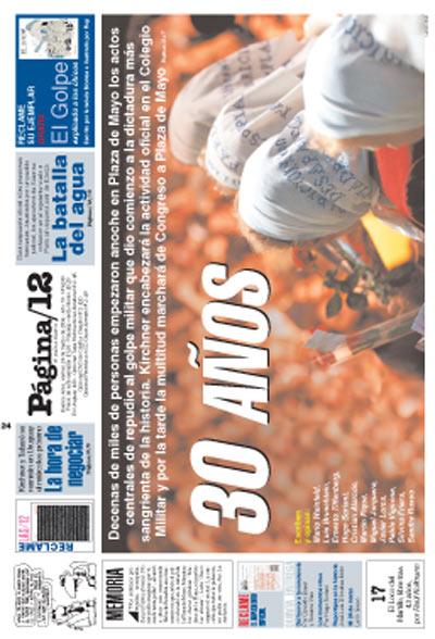 Tapa de la fecha 24-03-2006