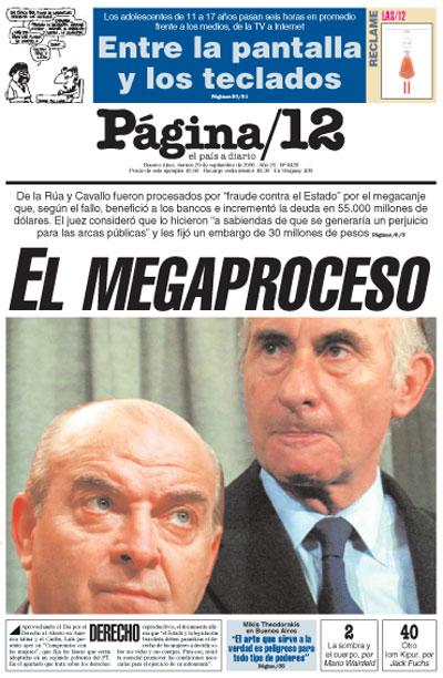 Tapa de la fecha 29-09-2006