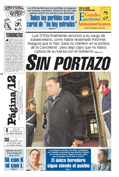 Tapa de la fecha 15-11-2006