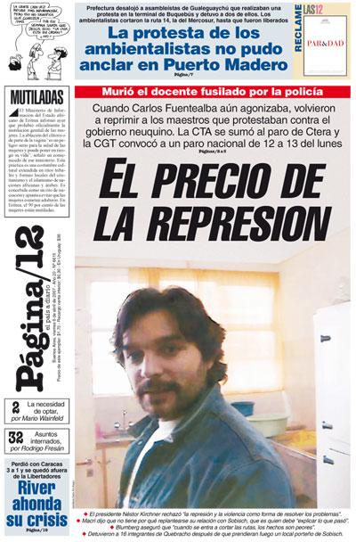 Tapa de la fecha 06-04-2007