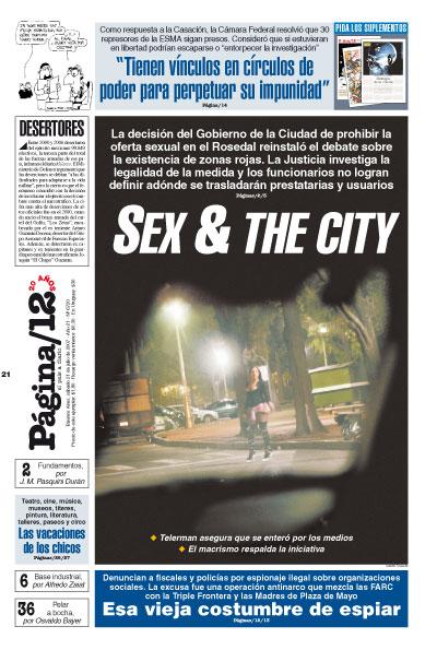 Tapa de la fecha 21-07-2007