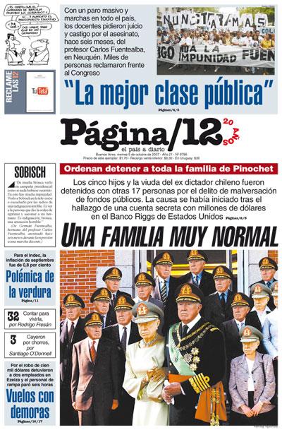 Tapa de la fecha 05-10-2007