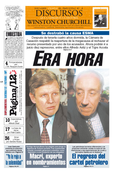 Tapa de la fecha 17-11-2007