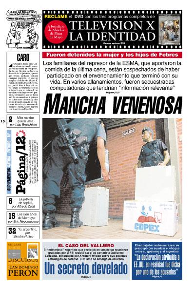 Tapa de la fecha 15-12-2007