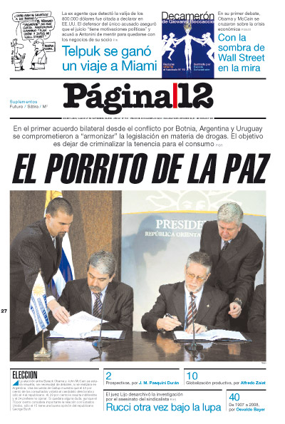 Tapa de la fecha 27-09-2008