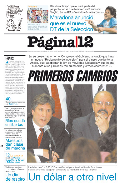 Tapa de la fecha 29-10-2008