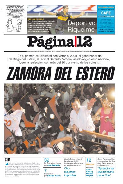 Tapa de la fecha 01-12-2008