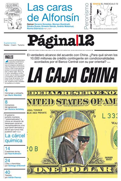 Tapa de la fecha 05-04-2009