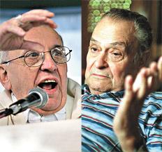 Bergoglio contrastado: dictadura e Iglesia
