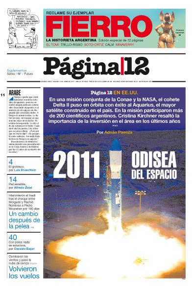 Tapa de la fecha 11-06-2011