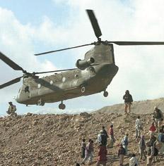 Helicóptero Chinock