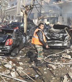 Muertos, sangre y guerra civil en Siria