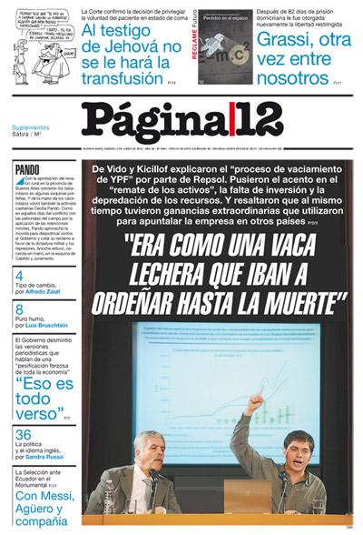 Tapa de la fecha 02-06-2012