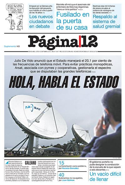 Tapa de la fecha 06-09-2012