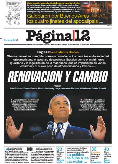 Tapa de la fecha 08-11-2012