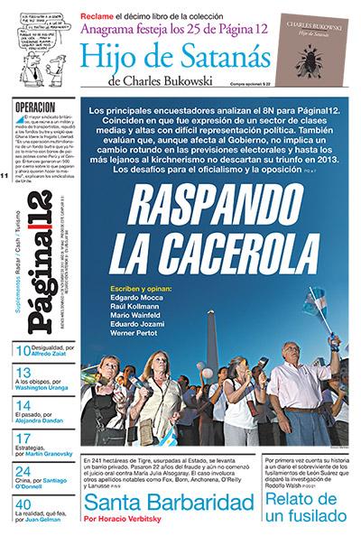 Tapa de la fecha 11-11-2012