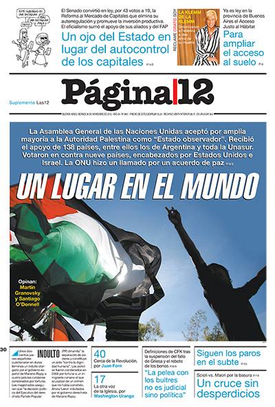 Tapa de la fecha 30-11-2012