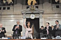 Cristina Fernández en Asamblea Argentina