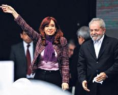Destruir a Lula y Cristina para destruir Brasil y Argentina