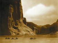 Las fotografias de Edward S. Curtis en el oeste de EE. UU.