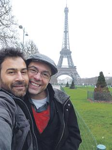 Gaby y Tavo en París