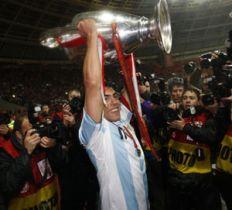 Champions League, Ultimos Argentinos Ganadores Tevez, Milito