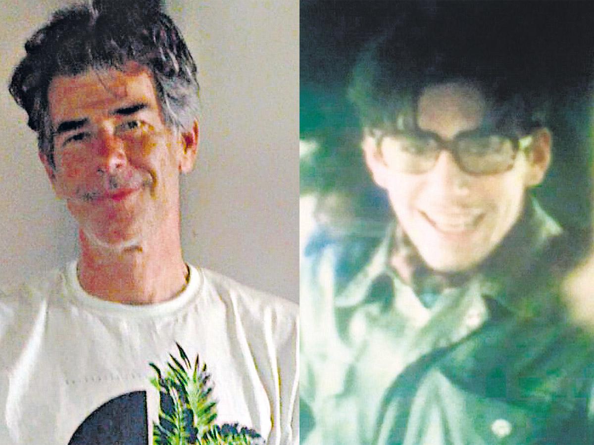 Gonzalo Pereira Pérez y, a la derecha, su hermano Martín, desaparecido.