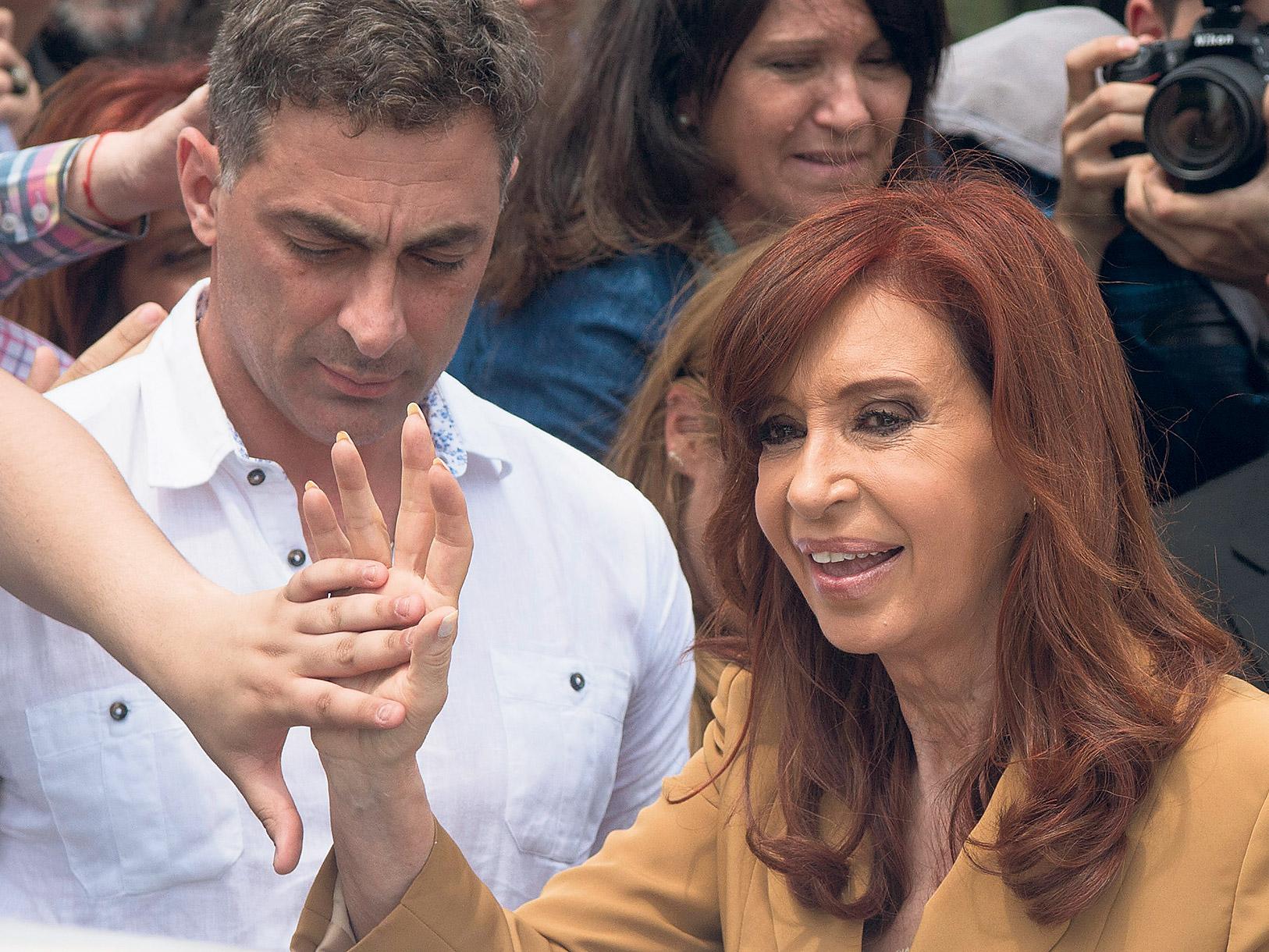 La ex presidenta Cristina Kirchner publicó ayer su mensaje en las redes sociales.