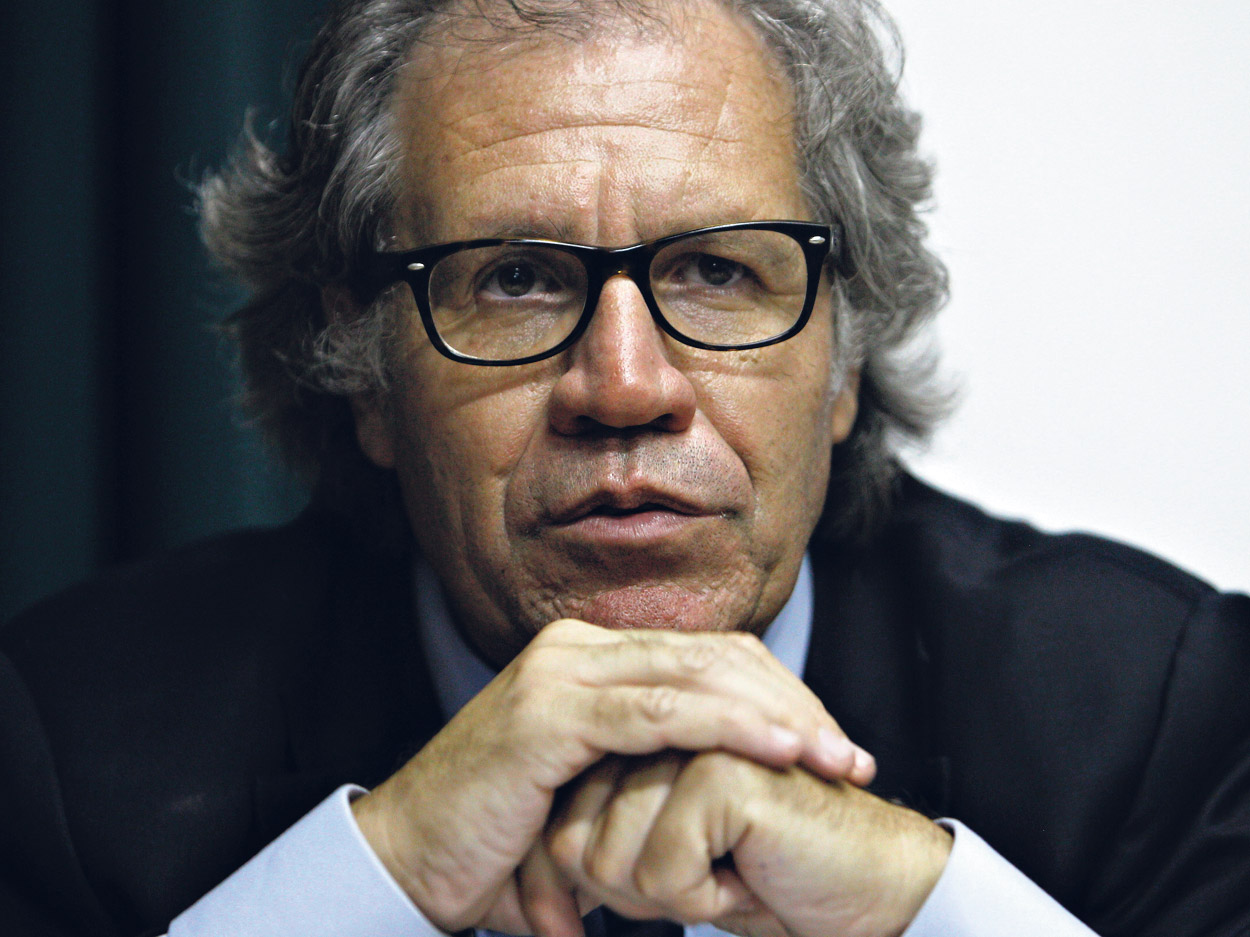 Luis Almagro, secretario general de la Organización de Estados Americanos (OEA).  (Fuente: EFE)