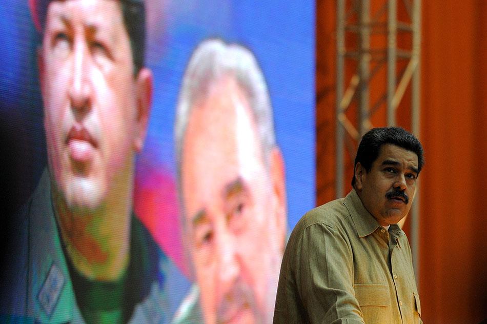 """Desde La Habana, Nicolás Maduro dijo que seguirá """"dando la batalla"""" por el Mercosur. (Fuente: AFP)"""