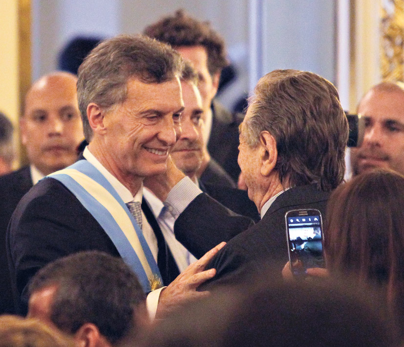 El decreto de Mauricio Macri es a la medida de su propio padre, Franco Macri. (Fuente: Bernardino Avila)
