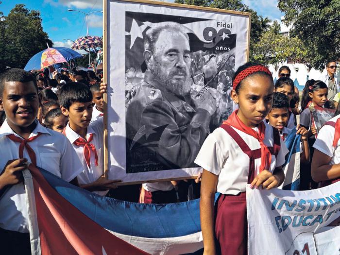 Homenaje sin ron a Fidel, el Martí del siglo XX