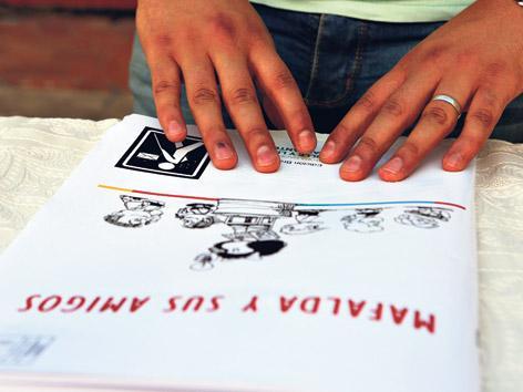 A leer Mafalda sin ver